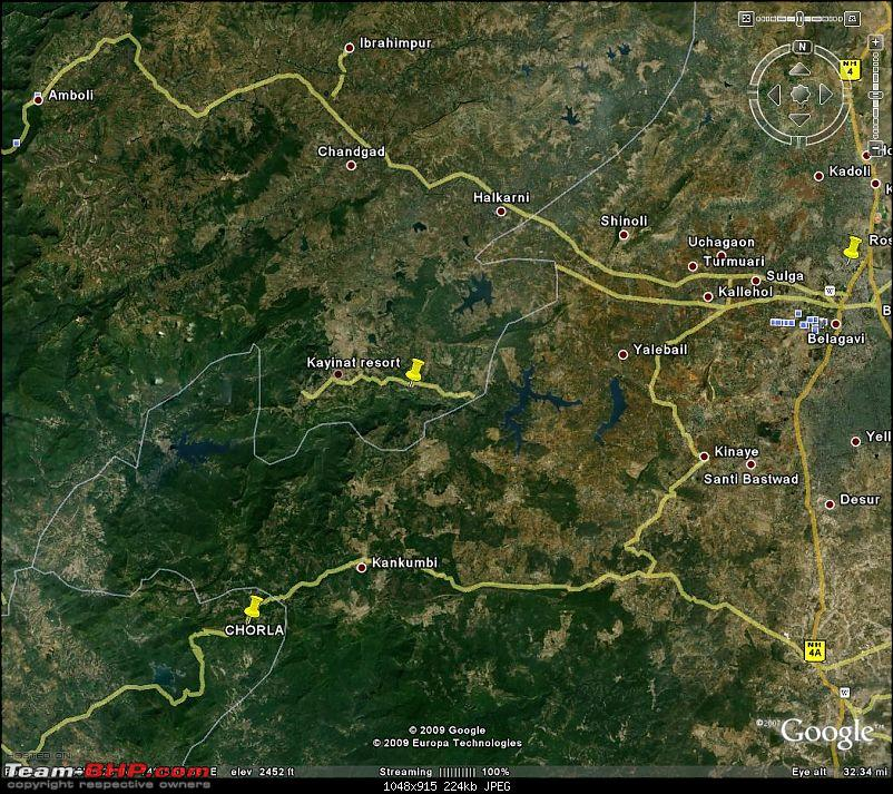 Kayinat Resort. Tilari ( 50 kms from Belgaum )-googleearth_image.jpg