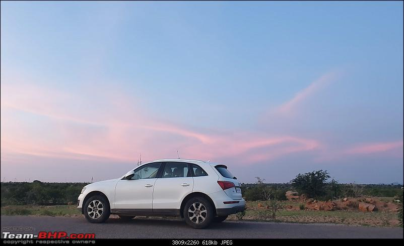 Putting an Audi Q5 to the test on a farm and in mountains-audi-sunset-1.jpg