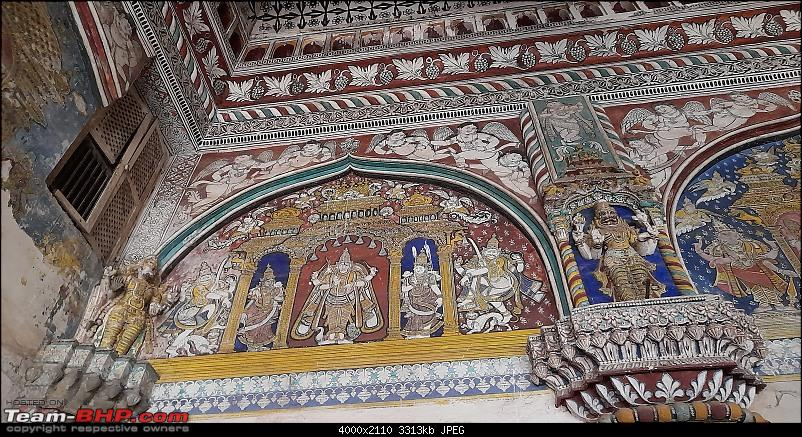 Baloo & I: Reset at an Ashram, and drive into the glorious past of the Chola empire-part4-pic11-paintings-darbar-hall.jpg