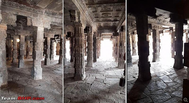 Baloo & I: Reset at an Ashram, and drive into the glorious past of the Chola empire-part5-pic15-mukha-mandapa-pillars-collage.jpg