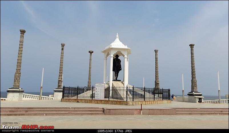 Baloo & I: Reset at an Ashram, and drive into the glorious past of the Chola empire-part7-pic6-mahatma-gandhi-statue-2mp.jpg