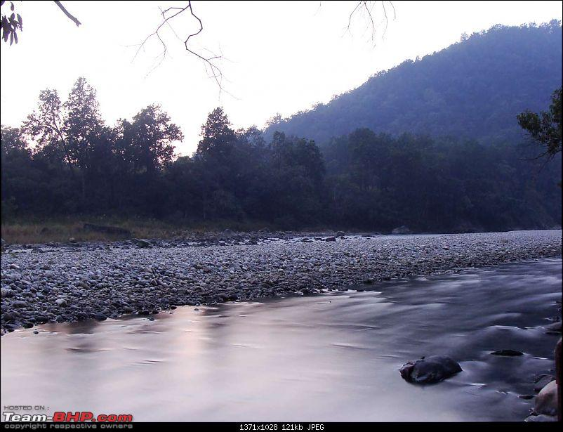 3C's (Car, Camera, Corbett) minus 3C's (Cellphone, Clinics, Classes) = Peace-slow-river.jpg