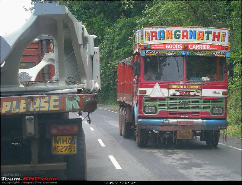 An Incredible Road trip from Pune to Kerala! - Revisited the second time!-i-heavy-lorry-traffic-yellapur.jpg