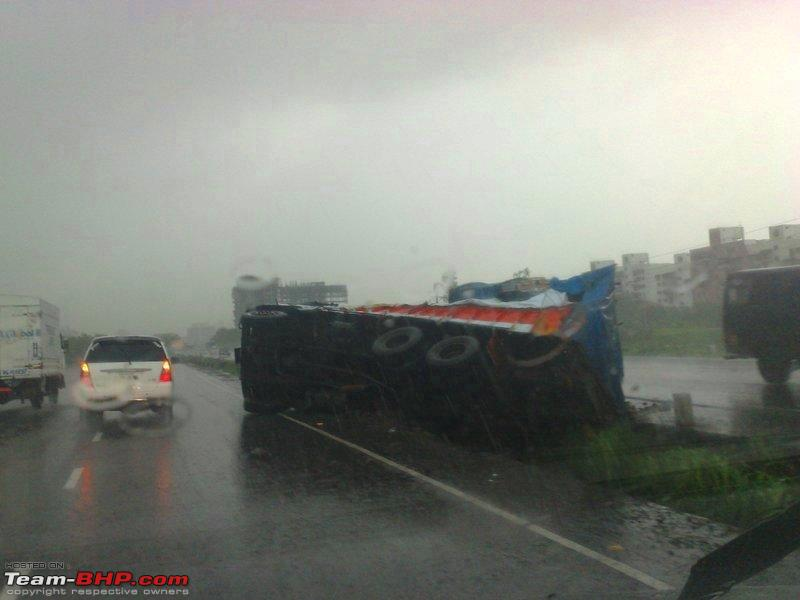 Name:  Another accident on Pune  Mumbai expressway.jpg