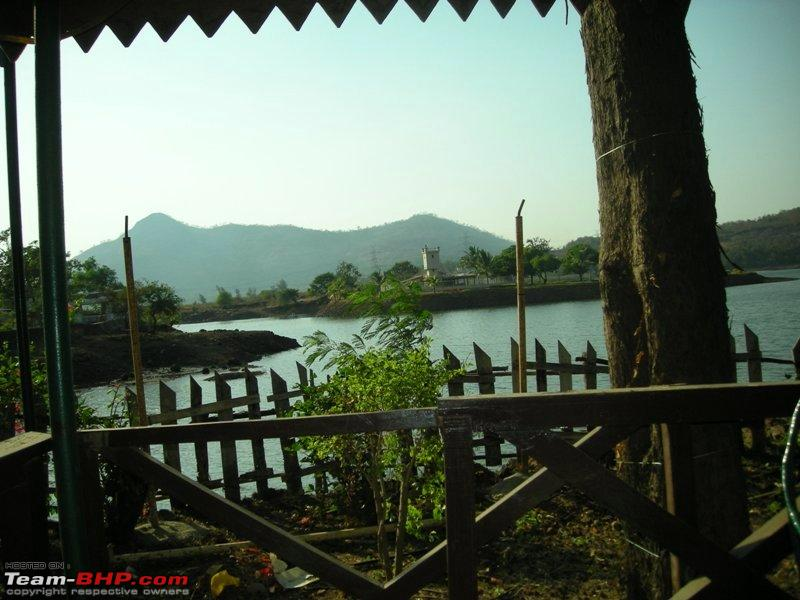 Name:  View of the lake from the farm house near Panvel.jpg