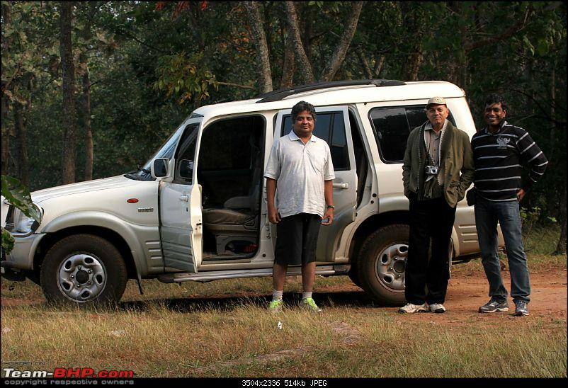 Our shortest trip into Srisailam forest, ever.-scorpio.jpg