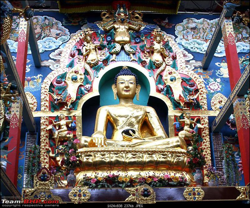 Bylakuppe - A Photologue about a mini Tibet in Karnataka-buddha.jpg