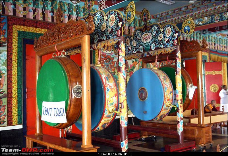 Bylakuppe - A Photologue about a mini Tibet in Karnataka-drums.jpg