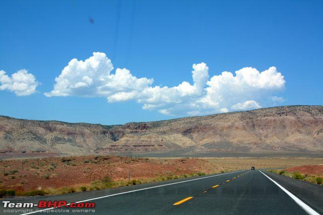 Name:  Road from Flagstaff to Grand Canyon National Park AZ.jpg