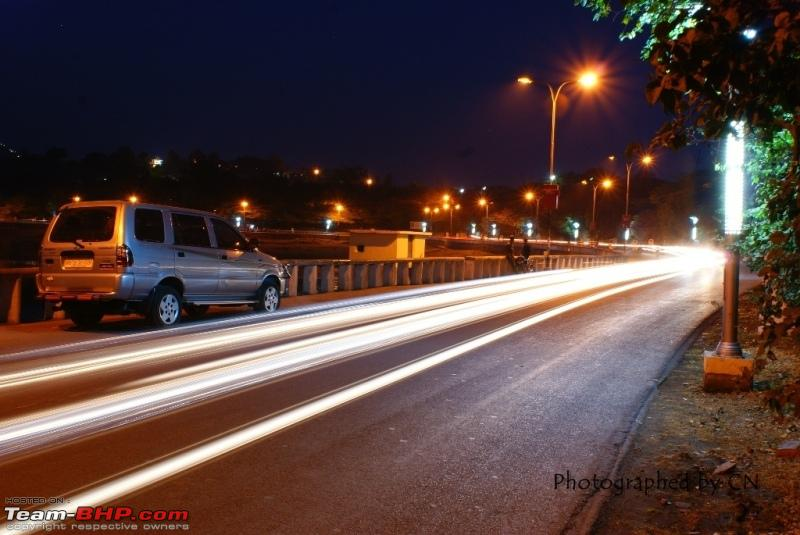 Name:  16 Chevy Baby_  Light trails at Fateh Sagar.JPG