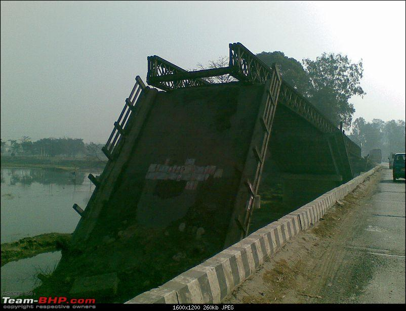 Kolkata to Dooars- A memorable road trip-broken-bridge.jpg