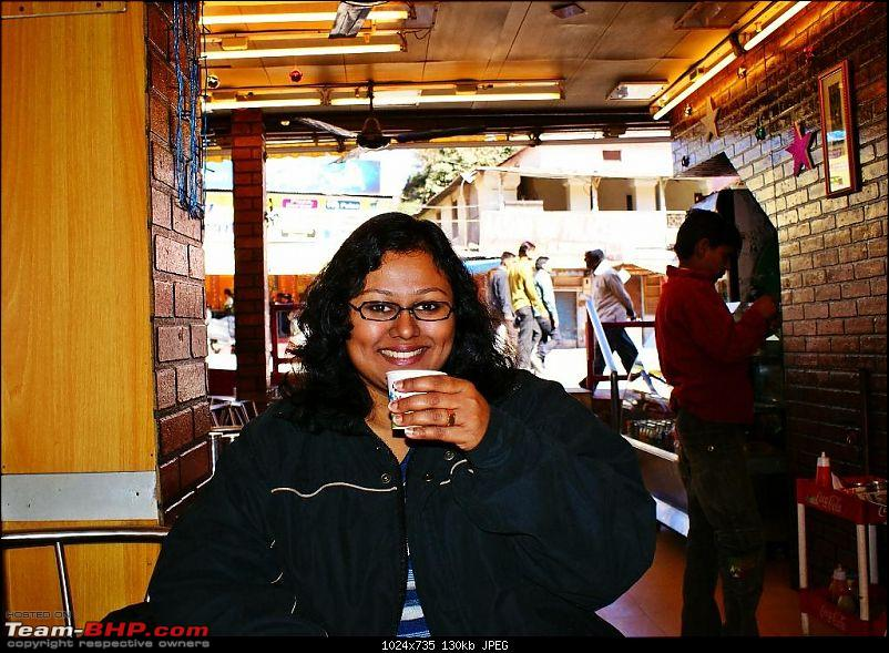 An Incredible Road Trip of a Lifetime to Udaipur, The Most Romantic City in the World-2-wifey_enjoying_her_coffee.jpg