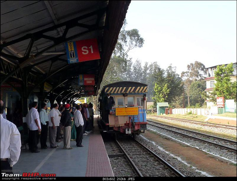 'Xing'ing around ! - Masinagudi, Ooty and Coonoor.-19.jpg</a><br /> <br /> <br /> One by one a number of passengers made a beeline for pics from the guard's station...<br /> <br /> <a href=