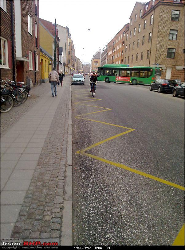 Business with Pleasure in the City of Ideas : Lund, Sweden-02-market-street-road-side-parking.jpg