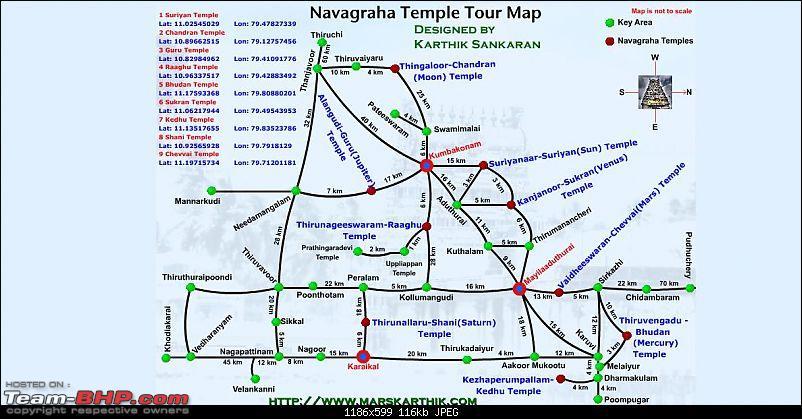 Srirangam- Tanjavur - Navaragraha Temple - Travelogues-navagraha-temple-road-map.jpg