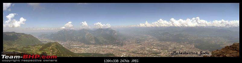 Bangalore to Grenoble, Via Milano & Venizia - Le Moucherotte conquered...-pano2.jpg
