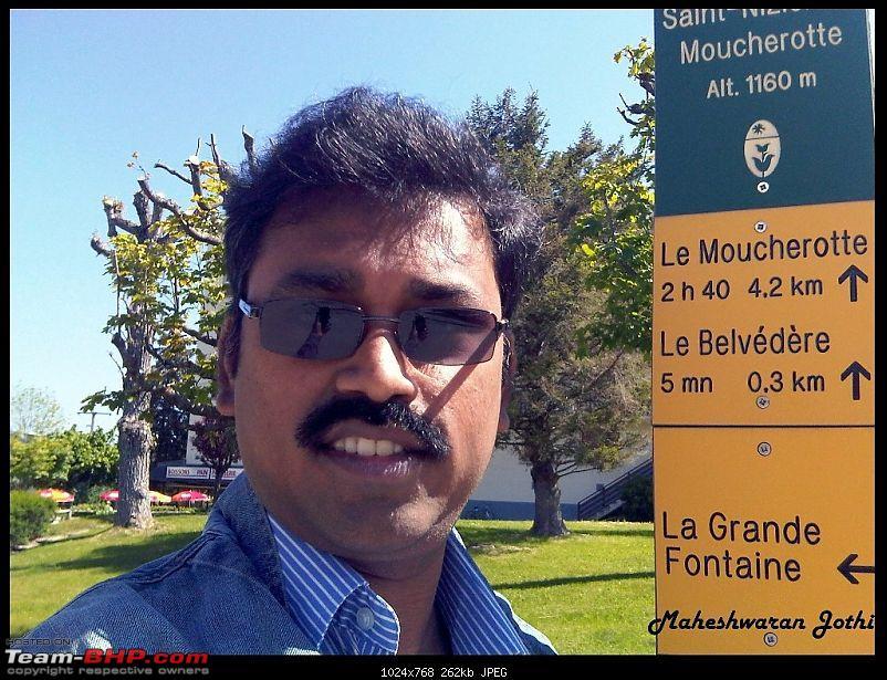 Bangalore to Grenoble, Via Milano & Venizia - Le Moucherotte conquered...-begining.jpg