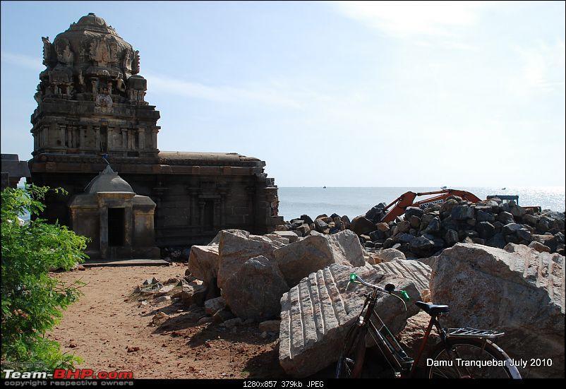 Bangalore Tranquebar - Weekend getaway.-beach-temple-tranquebar-2.jpg