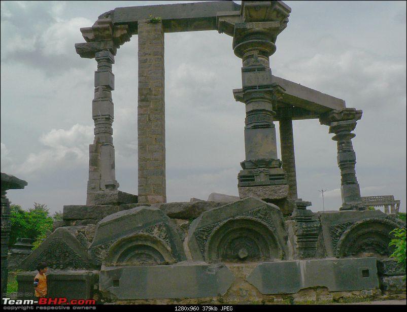 Weekend trip to Warangal, A.P-pillars.jpg