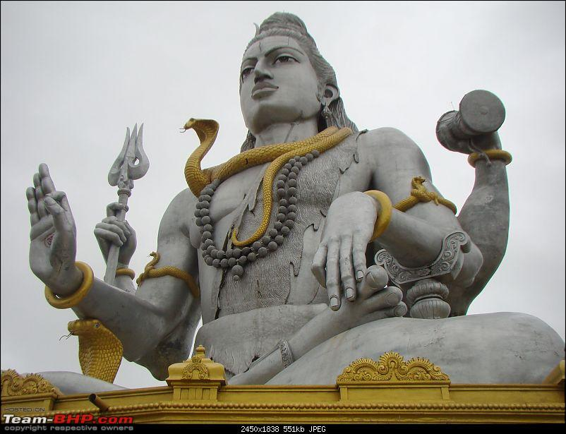 Monsoon Break : Hills, waterfalls and temples!-14murudeshwarshiva2.jpg