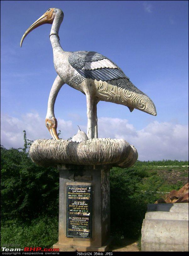 Bangalore - Lepakshi - Devanahalli Fort - Bangalore : 1 Day Drive-crane.jpg