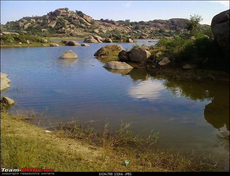 On Bullets - Devarayanadurga-lake_foot3.jpg