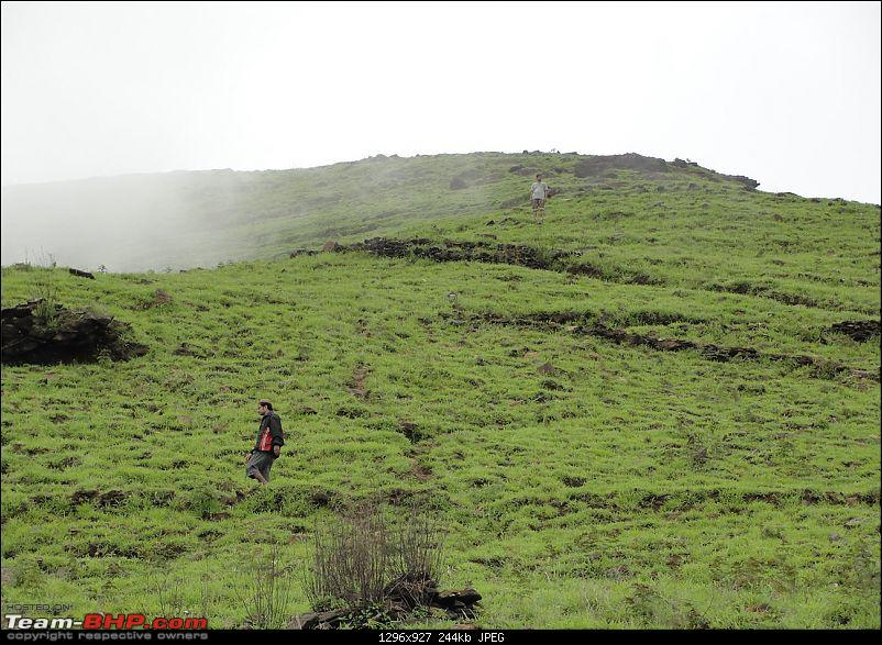 Experiencing the Monsoon - On the Horse Face and on top of KA - A Trekkalog-kudremukh-560.jpg
