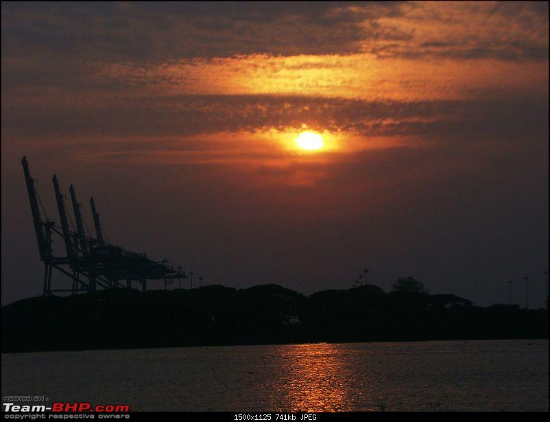 Southern Odyssey : 5000 kms through South India-7-sunset-bolgatty-palace-view-point.jpg