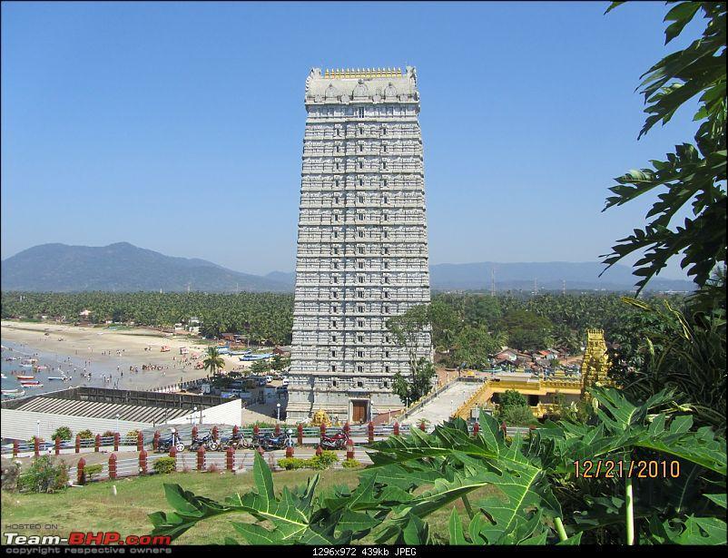 Horanadu,Sringeri,Kollur,Gokarna,Udupi,Karkala,Moo dbidri,Mangalore,Dharmasthala,Kukke-murudeshwara-temple-gopura.jpg