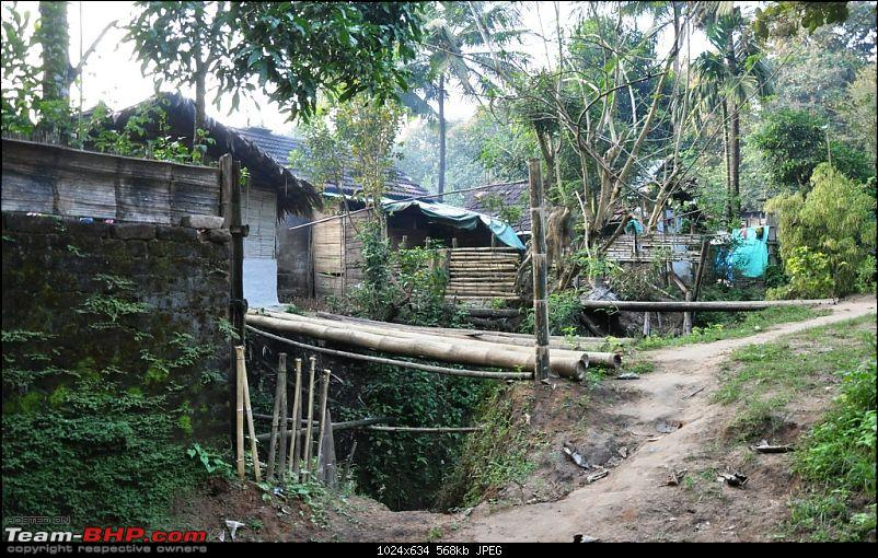 Story of a Vacation II : A page out of Jungle Book & experiencing God's Own Country-199-tribal-settlement-use-bamboo-most-walks-life.jpg