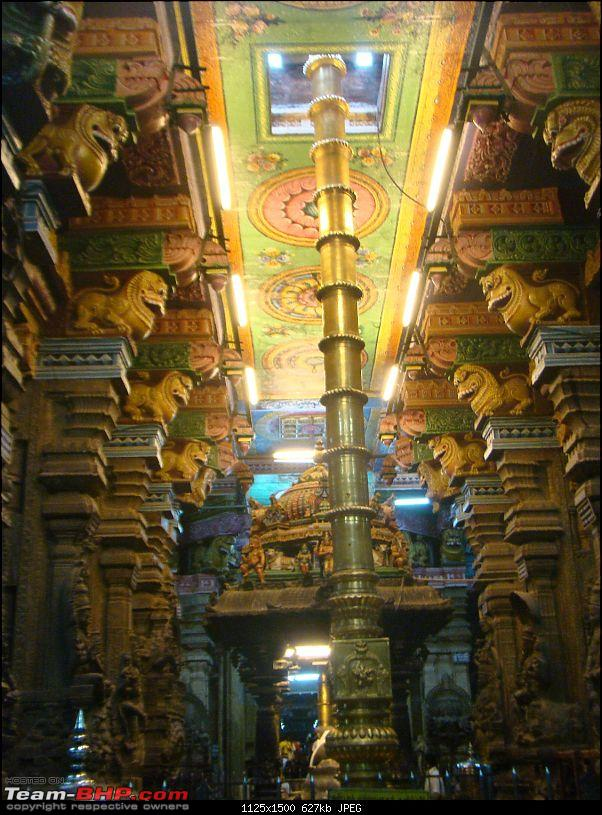 Southern Odyssey : 5000 kms through South India-13-meenakshi-temple-dhwajstamb-1.jpg