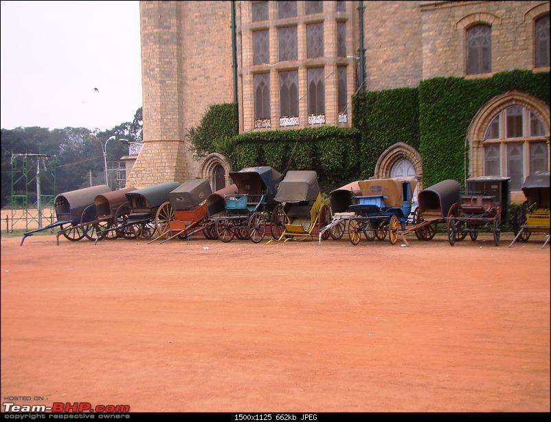 Southern Odyssey : 5000 kms through South India-9-bangalore-palace-handcarts-.jpg