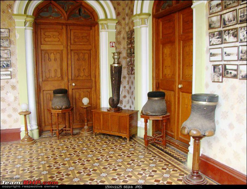 Southern Odyssey : 5000 kms through South India-13-bangalore-palace-elephant-artifacts-.jpg