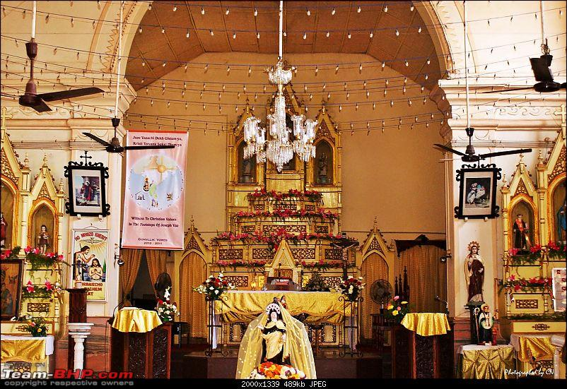 """An incredible road trip to the """"Pearl of the Orient"""" – Goa-10-church_altar.jpg"""