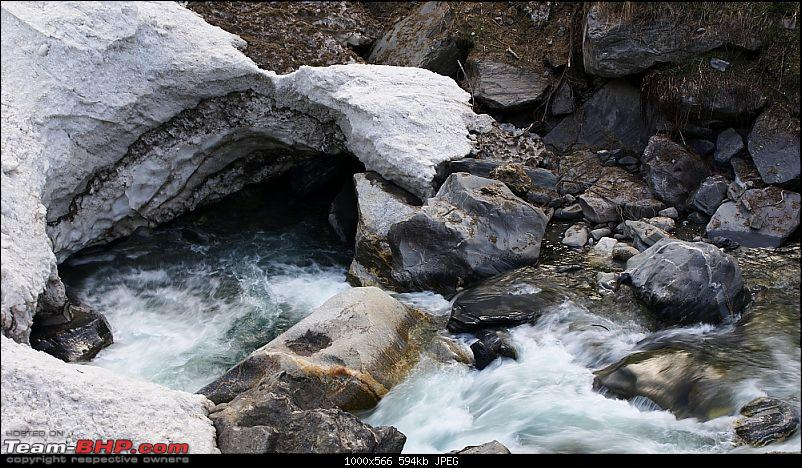 Blissful, beautiful Bhabha Valley @ Kafnu-cave_glacier.jpg