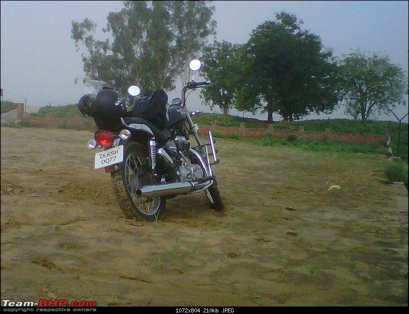 2 New Bulls & 2 new riders on an off roading trip to Bhondsi - with Pics-img00583201107020807.jpg