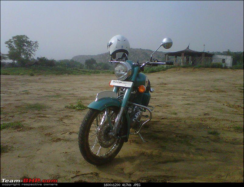 2 New Bulls & 2 new riders on an off roading trip to Bhondsi - with Pics-img00586201107020816.jpg