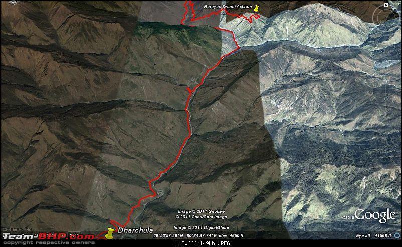 When I Went Walking To Tibet - Kailash Mansarovar Yatra-2011-1dharchula-nsa.jpg