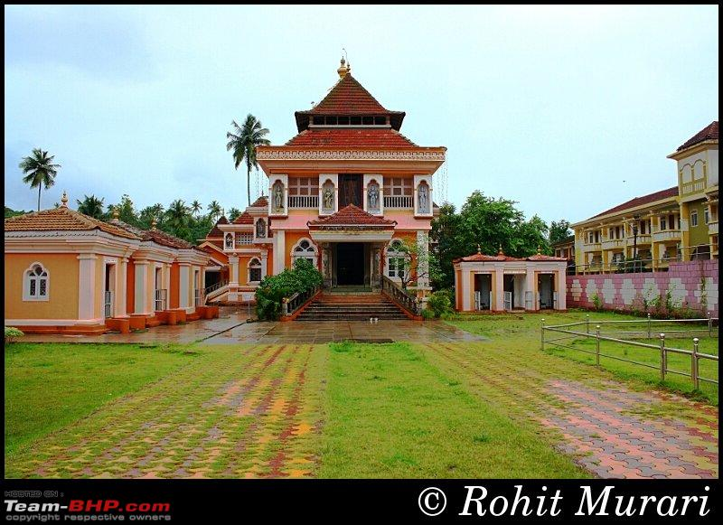 mangesh temple in goa