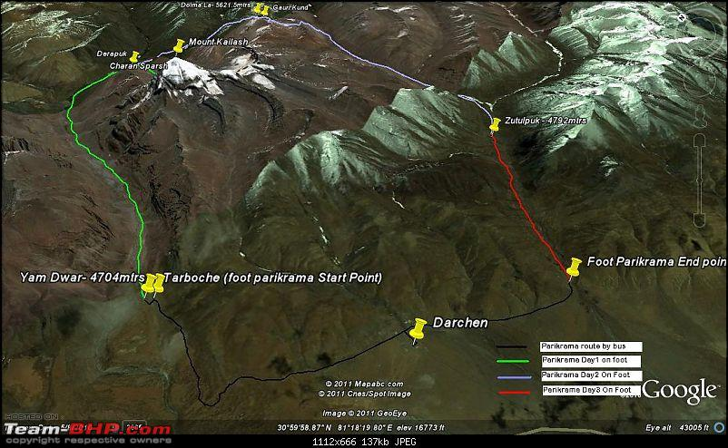 When I Went Walking To Tibet - Kailash Mansarovar Yatra-2011-8complete-parikrama-routefinal.jpg