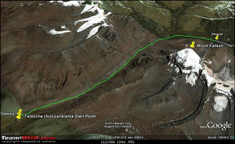 When I Went Walking To Tibet - Kailash Mansarovar Yatra-2011-10yamdwarderapukh.jpg