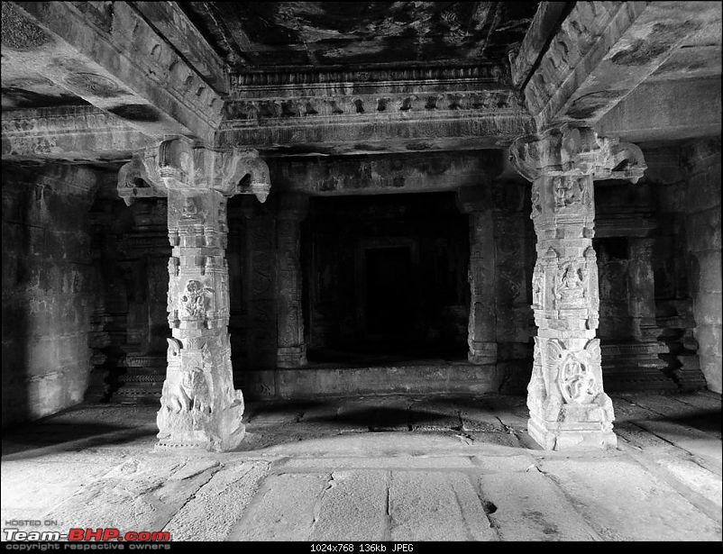 Hampi: Black and White with a dash of color-p1040700.jpg