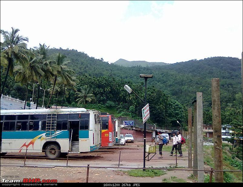Travelogue: Bengaluru - Chikmagalur - Horanadu - Dharmasthala - Kukke Subramanya-horanadu_parking_lot.jpg