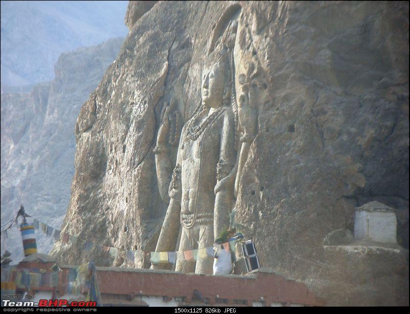 Ladakh: A sojourn to the roof of the world�over 21 days and 6500kms!!-d7-2-mulbekh-monastrya.jpg