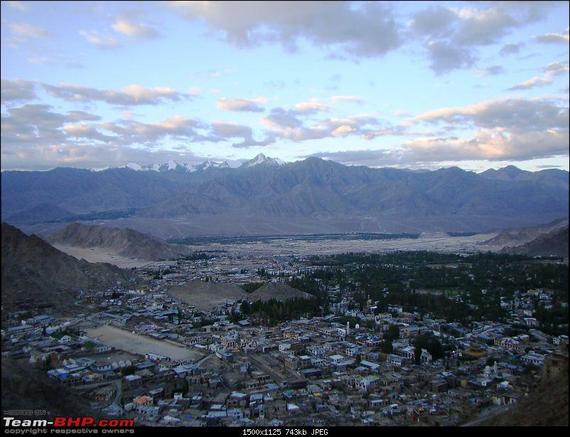 Ladakh: A sojourn to the roof of the world…over 21 days and 6500kms!!-d8-1-leh-town-tsemo-gompa.jpg
