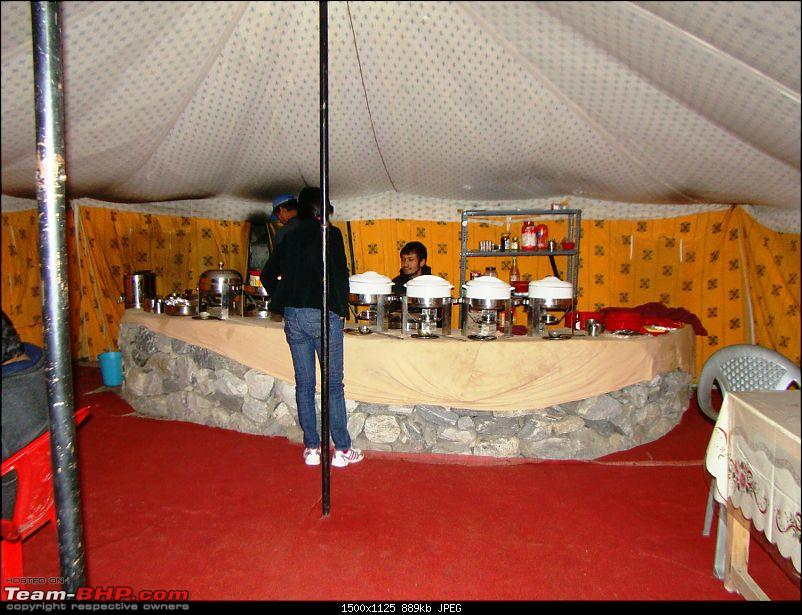 Ladakh: A sojourn to the roof of the world…over 21 days and 6500kms!!-day-9-dinner-tent.jpg