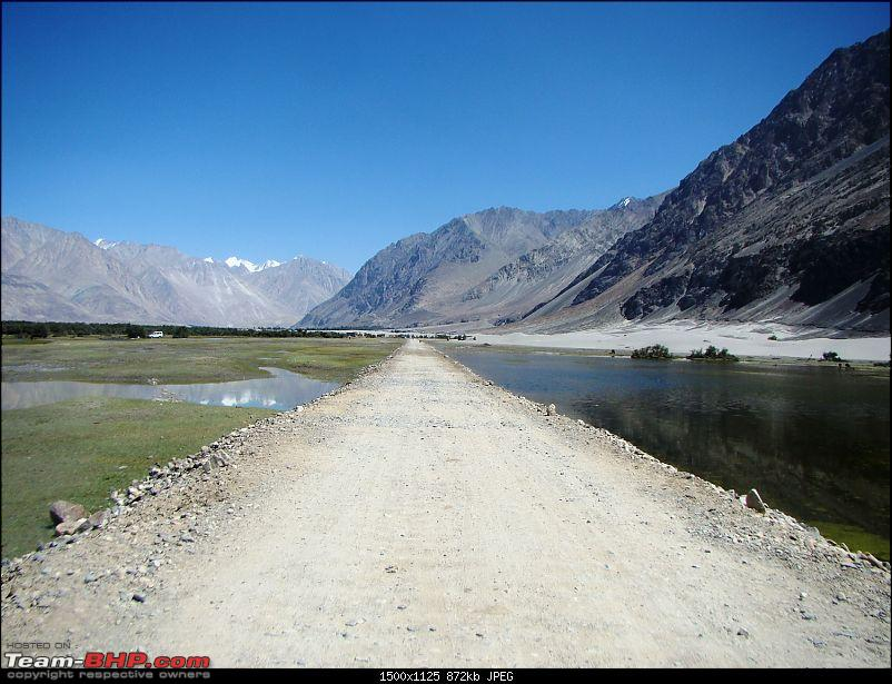 Ladakh: A sojourn to the roof of the world�over 21 days and 6500kms!!-d11-11-hunder.jpg