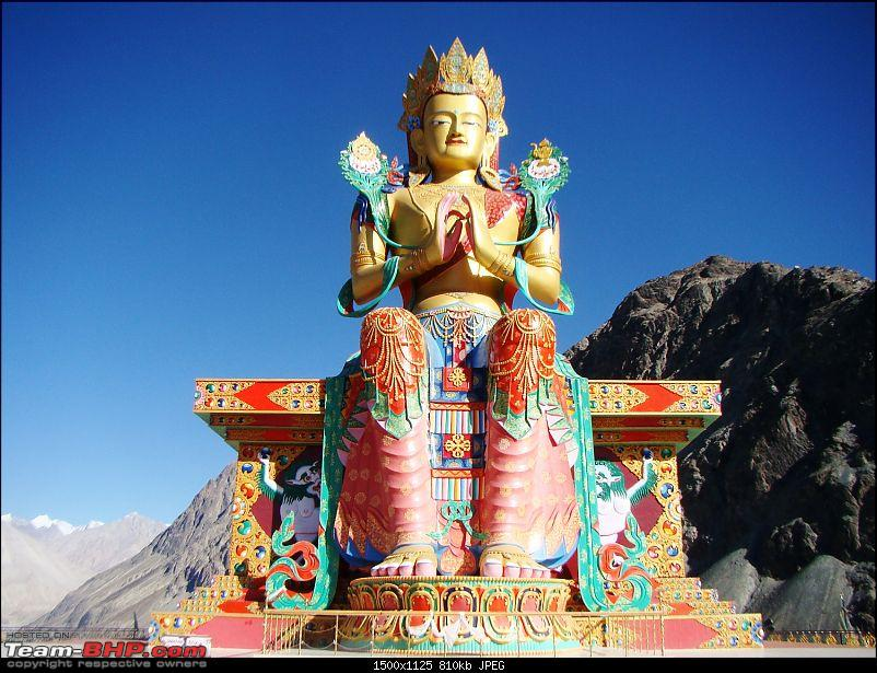 Ladakh: A sojourn to the roof of the world�over 21 days and 6500kms!!-d11-19-diskit-gompa.jpg