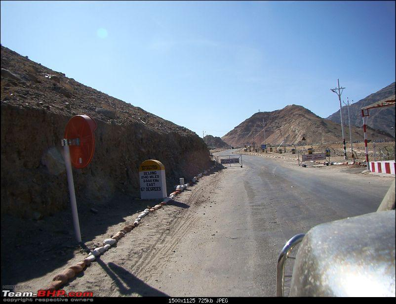 Ladakh: A sojourn to the roof of the world�over 21 days and 6500kms!!-d13-5-bejieng-milestone.jpg