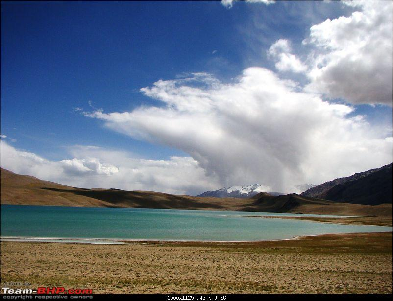 Ladakh: A sojourn to the roof of the world�over 21 days and 6500kms!!-d13-22-lake-before-tso-morriri.jpg
